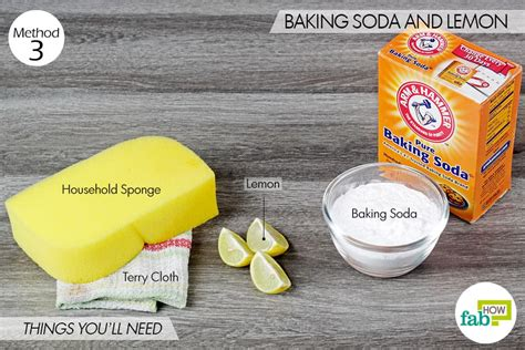 how to clean sink with baking soda cleaning sink with baking soda and lemon sinks ideas