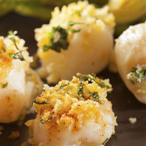 baked scallops recipe