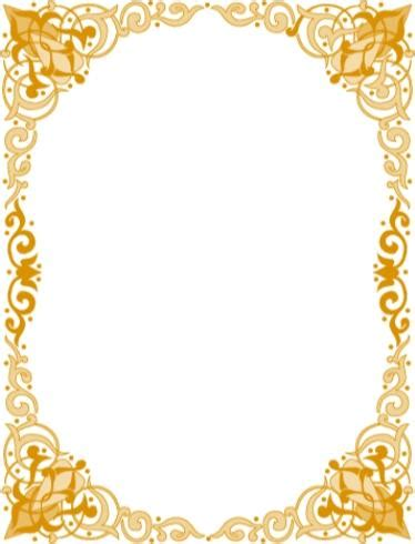 frame design islamic islamic frames clipart best