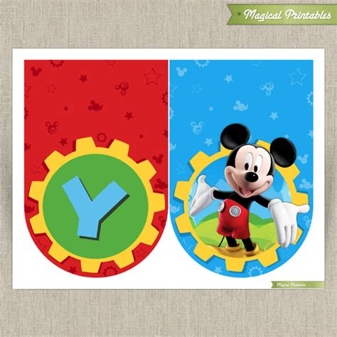 Disney Mickey Mouse Ideas Free Printables Holidappy - free printable mickey mouse clubhouse signs just b