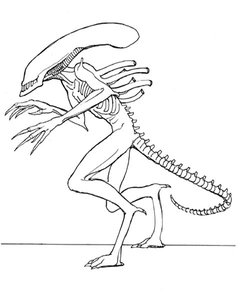 Kids Korner Free Coloring Pages Alien Coloring Pages Aliens