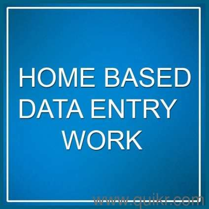 work from home data entry in income from home