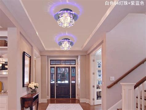 aliexpress com buy home led 3w hall light walkway porch 3w hallway light crystal ceiling light fixture with