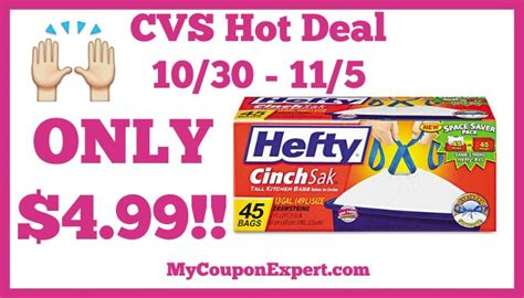 Want Some Beautiful With A Hefty Discount by Deal Alert Hefty Trash Bags Only 4 99 At Cvs From