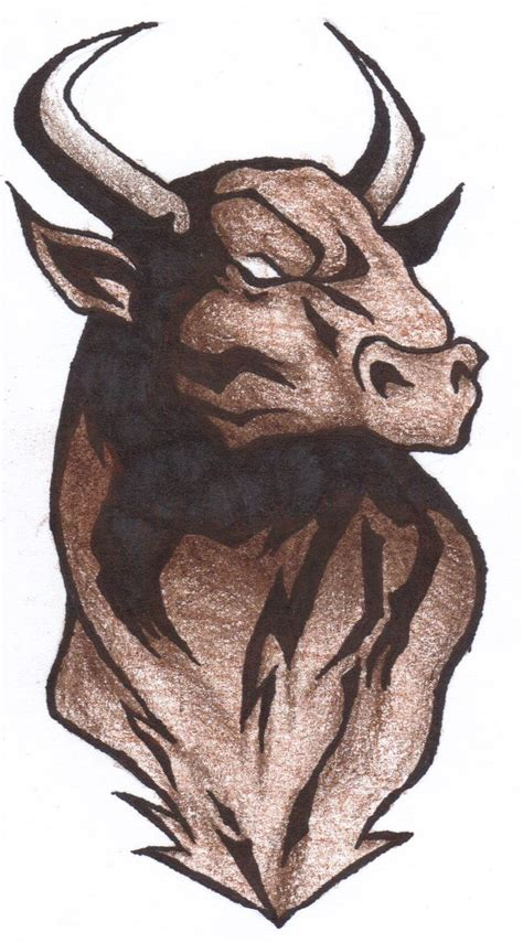 tribal bull skull tattoos 17 best ideas about bull tattoos on taurus