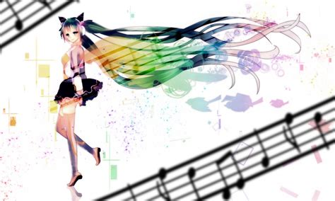 theme powerpoint 2010 anime download wallpapers download vocaloid hatsune miku anime