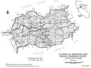el dorado county map california el dorado county georgetown divide resource conservation