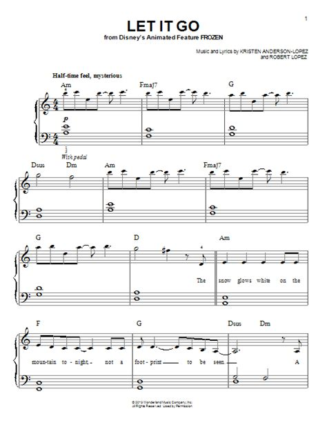 tutorial keyboard let it go download easy piano sheet music to let it go from frozen