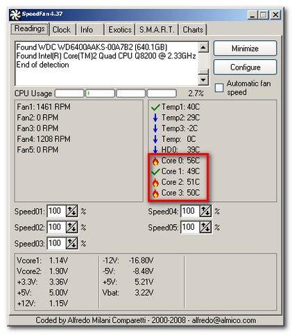 cpu fan temp monitor cpu temp