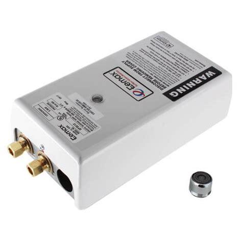 eemax sp3512 electric tankless water heater eemax sp3512 single point electric tankless water heater