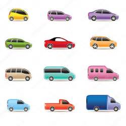 Different Types Of Cars Different Types Of Cars Icons Stock Vector 169 Stoyanh