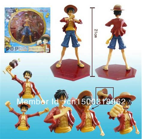 One Figure Luffy Pop Msib anime luffy figures one pop portrait of monkey d luffy figure toys 8 5inch free