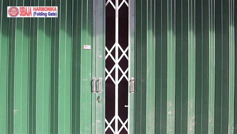 Kunci Pintu Harmonika Sibaja Harmonika Folding Gate Pintu Harmonika Surabaya