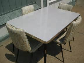 Vintage 1950 s formica kitchen table w 4 chairs 50 by modonmain