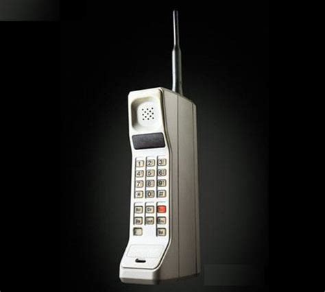when were cell phones invented mobile phone