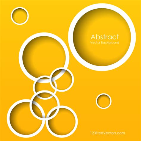 yellow circle background illustrator download free