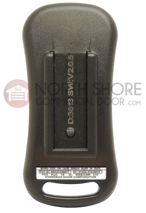 Genie Garage Door Remote Replacement by Genie Garage Door Opener Intellicode Remote Transmitter