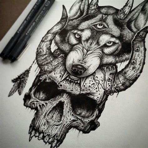tattoo ink animal bones best 25 wolf skull ideas on pinterest skull mask