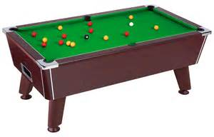 easy snooker valencia mahogany pool