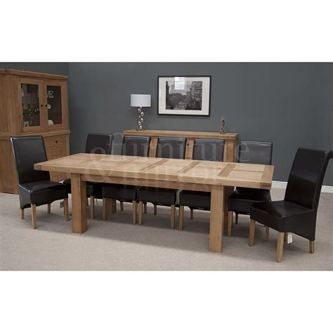 12 Seater Dining Tables Chunky 12 Seater Dining Table Furniture And Mirror