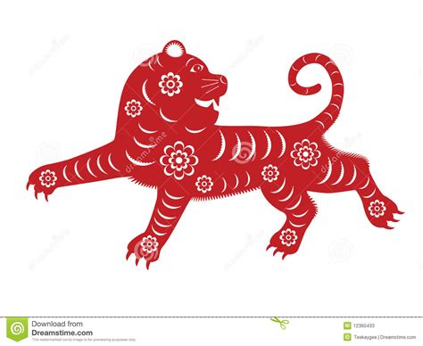 new year tiger zodiac zodiac tiger stock photos image 12360433