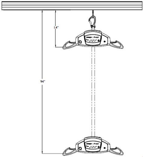 Waverly Glen Ceiling Lift by Waverley Glen Prism P 440 Portable Ceiling Lift