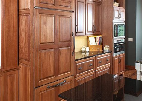 Gallery of specialty woods and finishes for kitchen cabinets