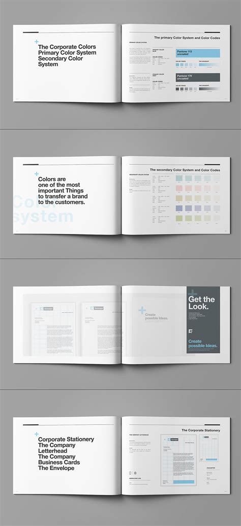 layout editor manual brand manual on behance
