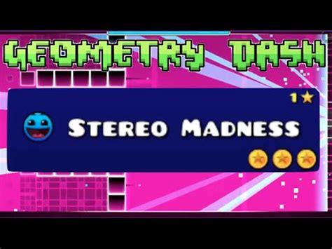 geometry dash full version stereo madness geometry dash level 1 stereo madness 2 coins youtube