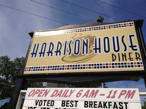 harrison house diner best diner in town picture of harrison house diner