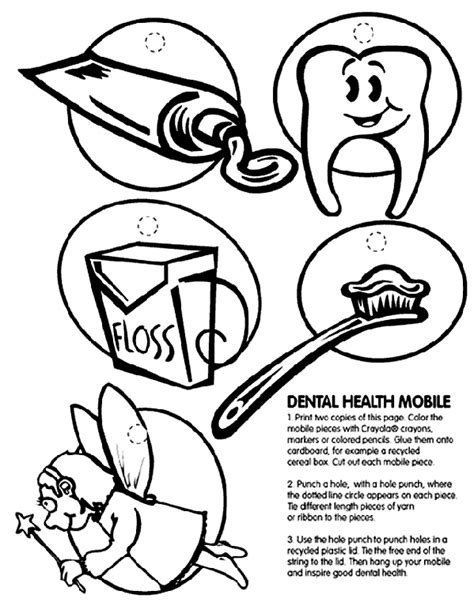 health coloring pages preschool dental health mobile crayola co uk