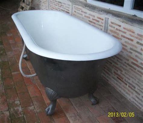 baignoire en fonte ancienne r 233 nov 233 e recycl 233 e baignoire