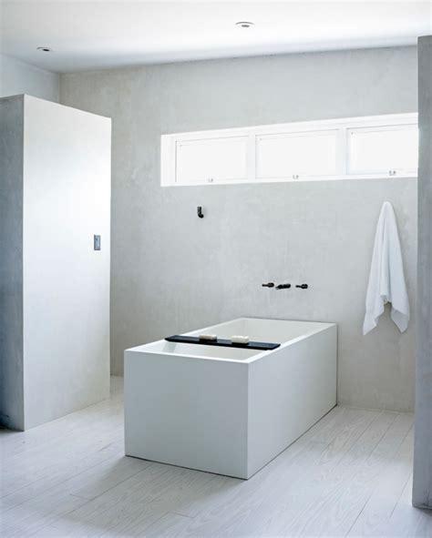wandputz bad badezimmer ohne fliesen mal anders gestalten 26 ideen