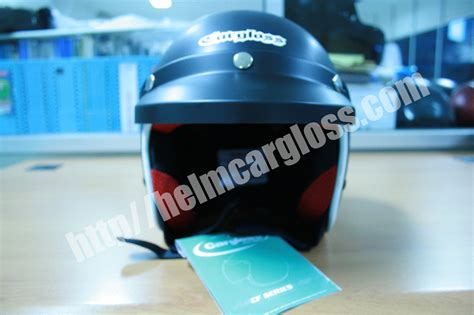 Helm Anak Muda Helm Retro Army Black Doff Helm Motor