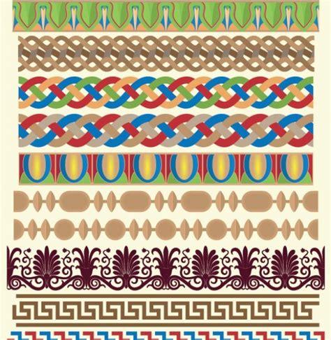 pattern greek illustrator 28 greek pattern design vector borders set welovesolo