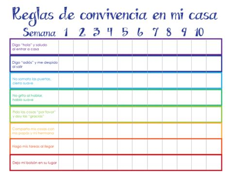 Calendario Compartido Whatsapp Normas De Convivencia En La Casa Imagui