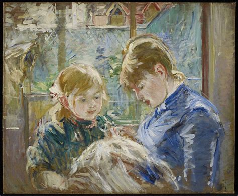 La Berthe Morisot by Berthe Morisot