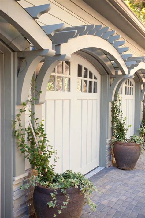 Garage Door Arbor by How To Replace Or Rev Your Garage Doors