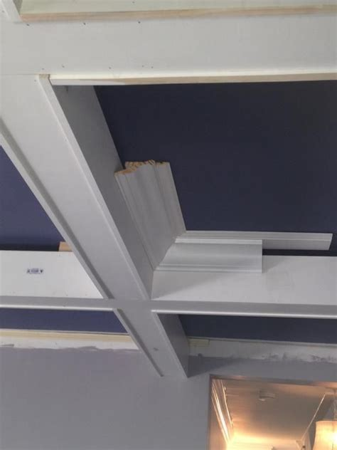 diy coffered ceilings diy