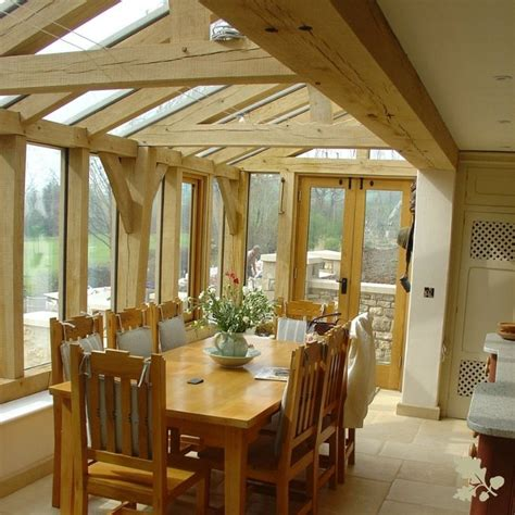 garden rooms  conservatories oak frame house garden