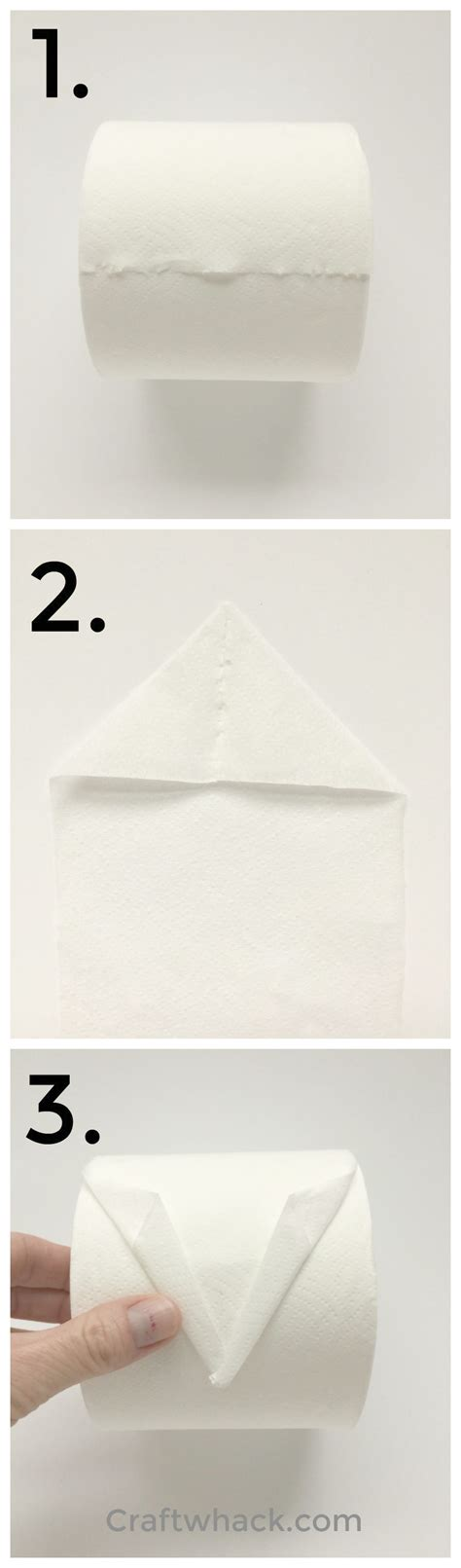 How To Fold Toilet Paper Fancy - ahoy learn to fold a toilet paper origami sailboat