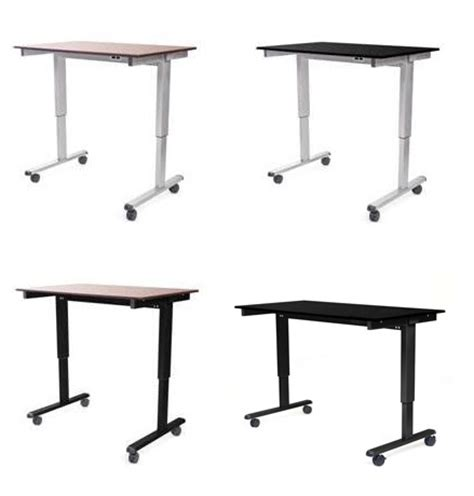 luxor 48 electric standing desk luxor electric standing desk 48 quot w stande 48 stand