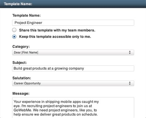 Linkedin Inmail Templates For Recruiters tour