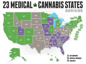 States Where Pot Is Legal Map by Medical Marijuana Siowfa15 Science In Our World