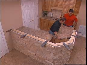 Installing Granite Countertops On Existing Cabinets Countertop Diy Tips Ideas Diy