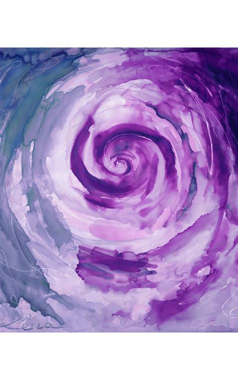 Beyond The End beyond the end in purple silkfred