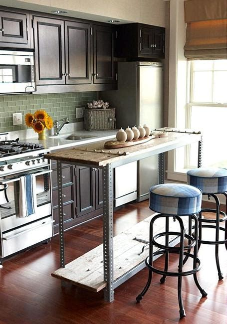 islands in small kitchens 21 space saving kitchen island alternatives for small kitchens