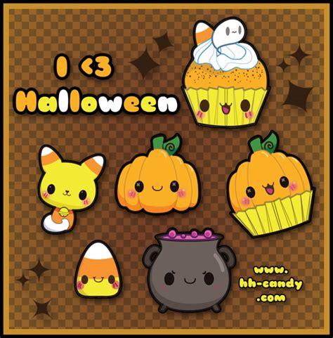 imagenes halloween kawaii y esto es halloween