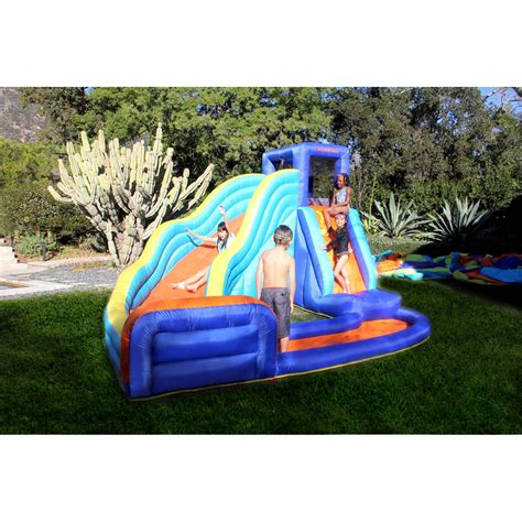 backyard inflatables water slide backyard inflatable waterslide park biggest