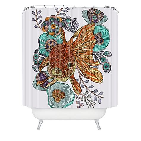 valentina ramos shower curtain deny designs valentina ramos little fish shower curtain in